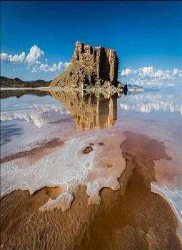 عکس قبل و بعد دریاچه ارومیه