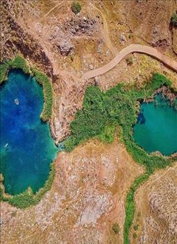 معرفی دریاچه دوقلو آبدانان